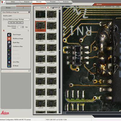 徕卡显微镜软件LAS X软件平台